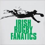 Irish rugby fanatics