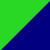 Navy/Green