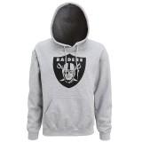 MJ006 Oakland Raiders large logo hoodie