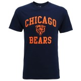 MJ011 Chicago Bears large graphic t-shirt