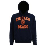 MJ015 Chicago Bears large graphic hoodie