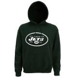 MJ017 New York Jets large logo hoodie