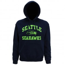 MJ018 Seattle Seahawks large graphic hoodie