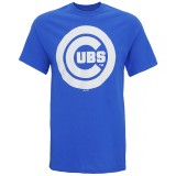 MJ024 Chicago Cubs large logo t-shirt