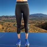 TR030   Women's capri fitness leggings