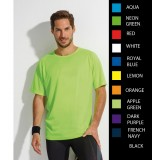 SOL's SPORTY POLYESTER  MENS T-SHIRT